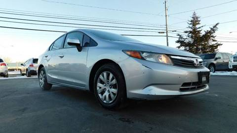 2012 Honda Civic for sale at Action Automotive Service LLC in Hudson NY