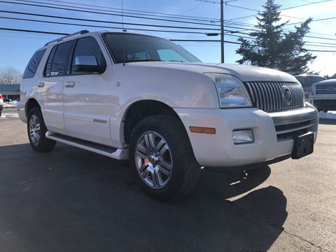 2008 Mercury Mountaineer for sale at Action Automotive Service LLC in Hudson NY