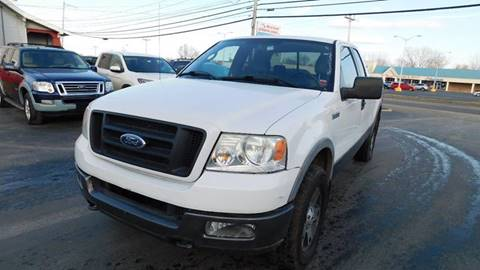 2005 Ford F-150 for sale at Action Automotive Service LLC in Hudson NY