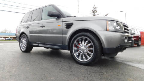 2008 Land Rover Range Rover Sport for sale at Action Automotive Service LLC in Hudson NY