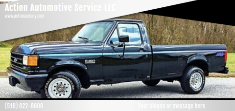 1991 Ford F-150 for sale at Action Automotive Service LLC in Hudson NY