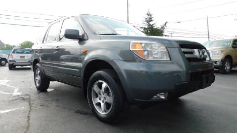 2008 Honda Pilot for sale at Action Automotive Service LLC in Hudson NY