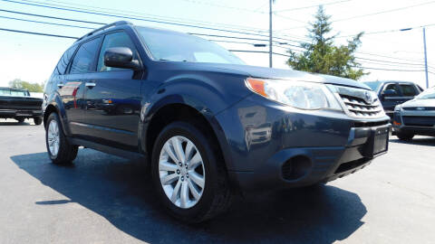 2011 Subaru Forester for sale at Action Automotive Service LLC in Hudson NY