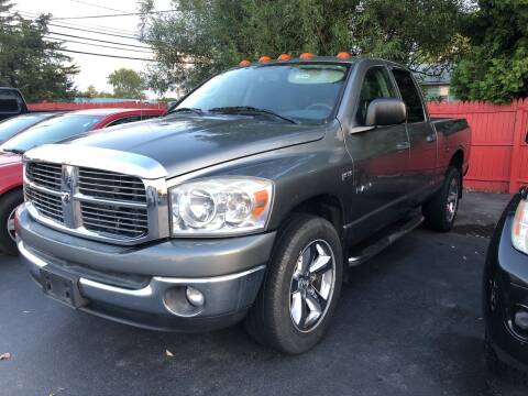 2008 Dodge Ram Pickup 1500 for sale at Action Automotive Service LLC in Hudson NY