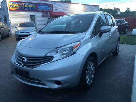 2015 Nissan Versa Note for sale at Action Automotive Service LLC in Hudson NY