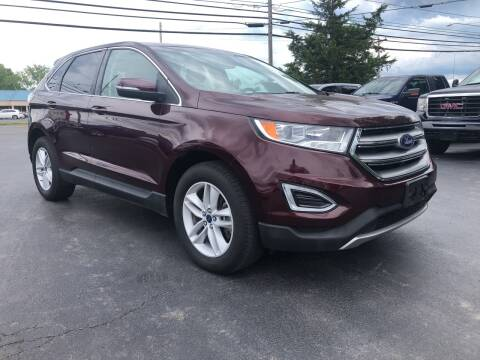 2017 Ford Edge for sale at Action Automotive Service LLC in Hudson NY