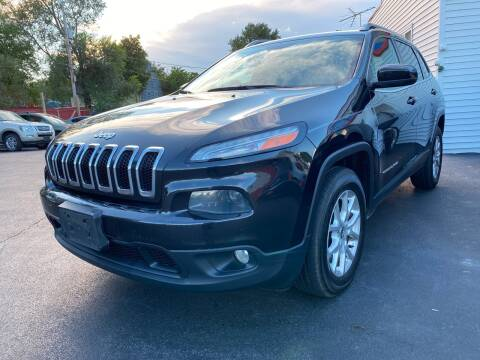 2015 Jeep Cherokee for sale at Action Automotive Service LLC in Hudson NY