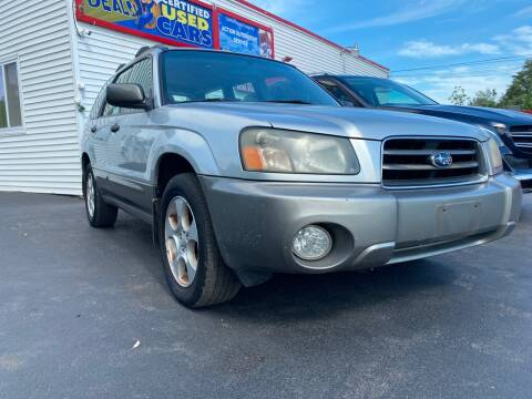 2003 Subaru Forester for sale at Action Automotive Service LLC in Hudson NY