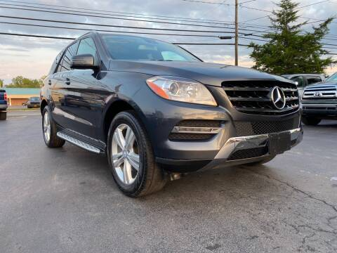 2014 Mercedes-Benz M-Class for sale at Action Automotive Service LLC in Hudson NY