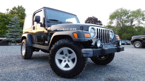 2004 Jeep Wrangler for sale at Action Automotive Service LLC in Hudson NY