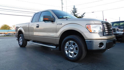 2012 Ford F-150 for sale at Action Automotive Service LLC in Hudson NY