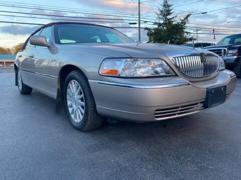 2003 Lincoln Town Car for sale at Action Automotive Service LLC in Hudson NY