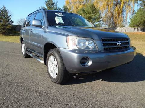 2002 Toyota Highlander for sale at Action Automotive Service LLC in Hudson NY