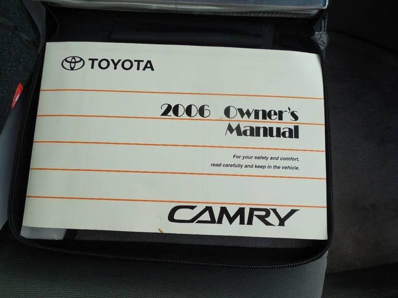 2006 Toyota Camry LE 4dr Sedan w/Automatic - Hudson NY