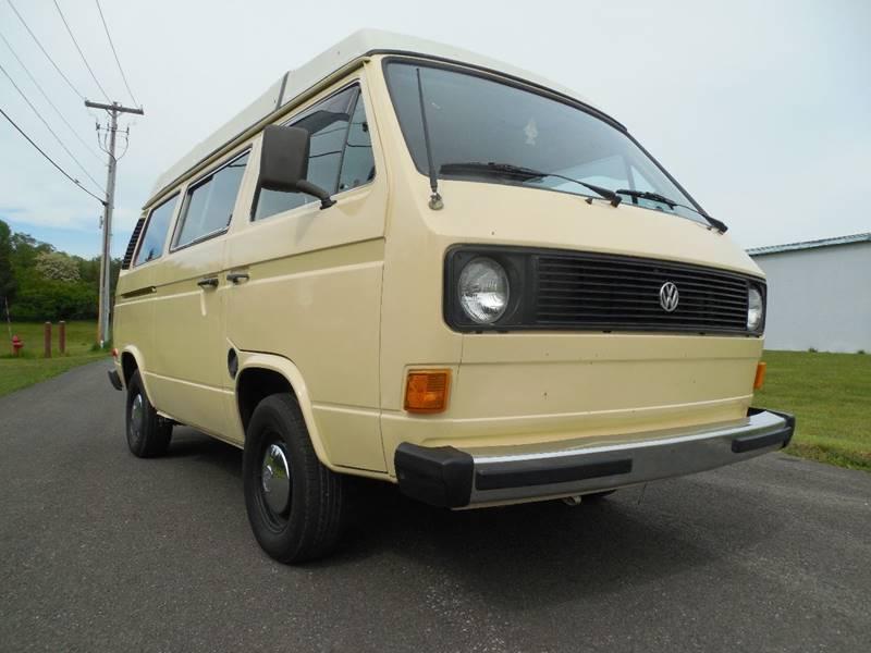 1981 Volkswagen Vanagon 3dr Camper Mini-Van - Hudson NY
