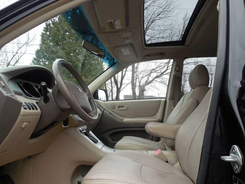 2004 Toyota Highlander AWD 4dr SUV - Hudson NY