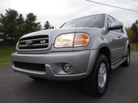 2003 Toyota Sequoia for sale at Action Automotive Service LLC in Hudson NY