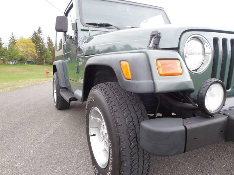 2000 Jeep Wrangler 2dr Sport 4WD SUV - Hudson NY