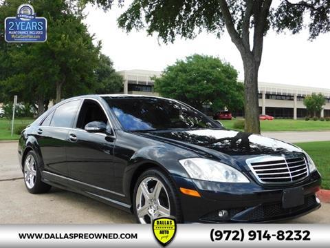 2008 Mercedes-Benz S-Class for sale in Carrollton, TX