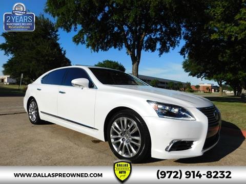 2015 Lexus LS 460 for sale in Carrollton, TX