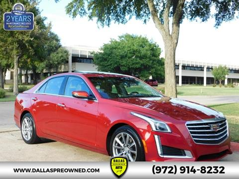 2017 Cadillac CTS for sale in Carrollton, TX