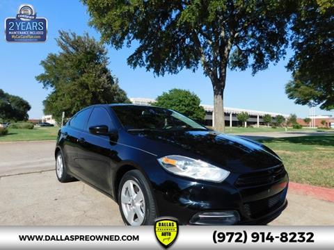 2016 Dodge Dart for sale in Carrollton, TX