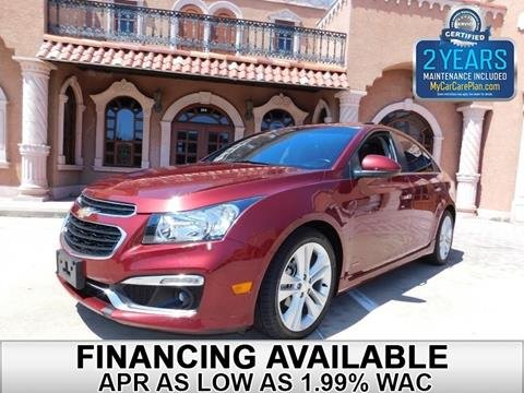 2015 Chevrolet Cruze for sale in Carrollton, TX