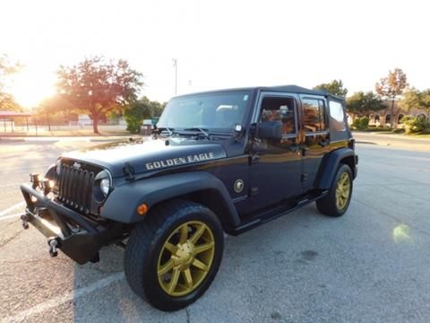 2010 Jeep Wrangler Unlimited for sale in Carrollton, TX
