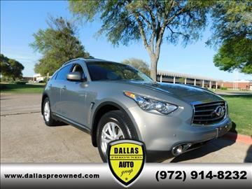 2013 Infiniti FX37 for sale in Carrollton, TX