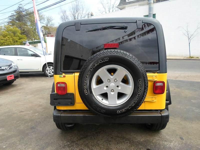 2002 Jeep Wrangler Sport 4WD 2dr SUV - Lansdowne PA