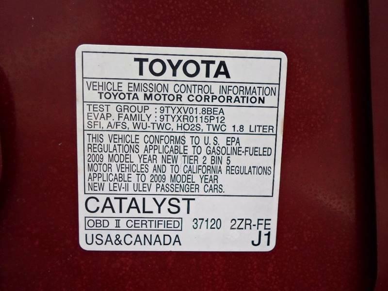 2009 Toyota Corolla XLE 4dr Sedan 4A - Lansdowne PA