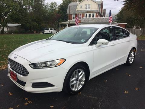 2014 Ford Fusion for sale in Lansdowne, PA