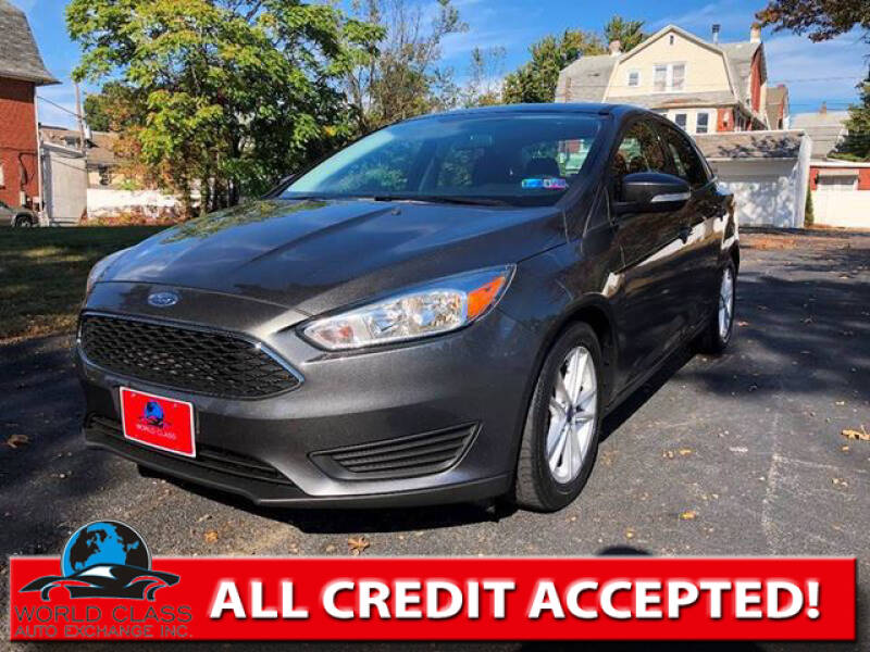 2016 Ford Focus for sale at World Class Auto Exchange in Lansdowne PA
