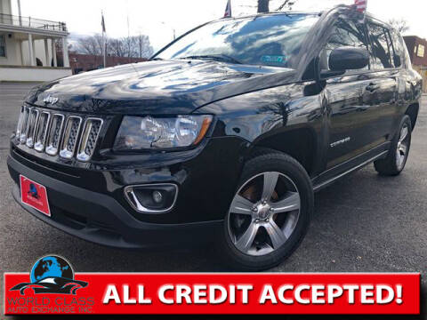 2016 Jeep Compass for sale at World Class Auto Exchange in Lansdowne PA