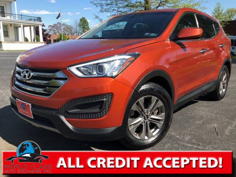 2016 Hyundai Santa Fe Sport for sale at World Class Auto Exchange in Lansdowne PA