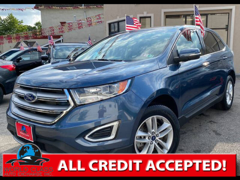 2018 Ford Edge for sale at World Class Auto Exchange in Lansdowne PA