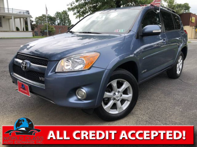 2012 Toyota RAV4 for sale at World Class Auto Exchange in Lansdowne PA