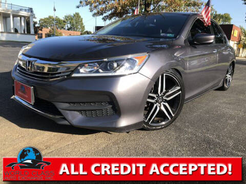 2016 Honda Accord for sale at World Class Auto Exchange in Lansdowne PA