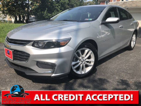 2018 Chevrolet Malibu for sale at World Class Auto Exchange in Lansdowne PA