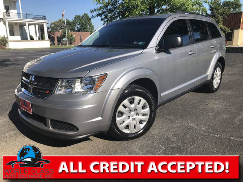 2018 Dodge Journey for sale at World Class Auto Exchange in Lansdowne PA