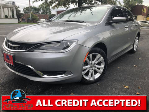 2016 Chrysler 200 for sale at World Class Auto Exchange in Lansdowne PA