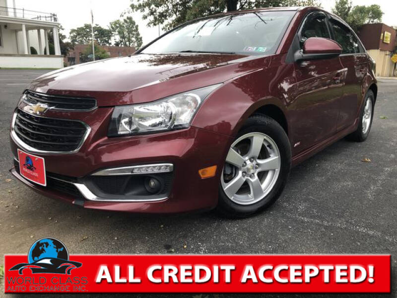 2016 Chevrolet Cruze Limited for sale at World Class Auto Exchange in Lansdowne PA
