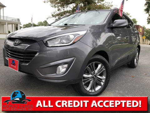 2015 Hyundai Tucson for sale at World Class Auto Exchange in Lansdowne PA
