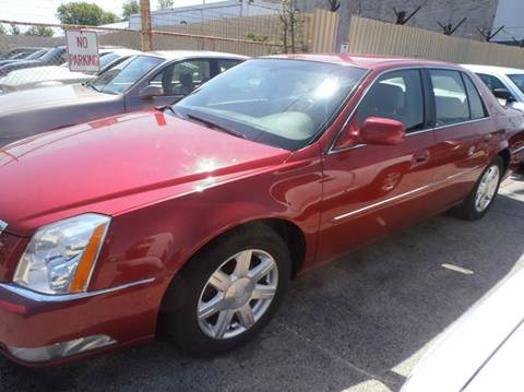 2007 Cadillac DTS for sale at A-Auto Luxury Motorsports in Milwaukee WI