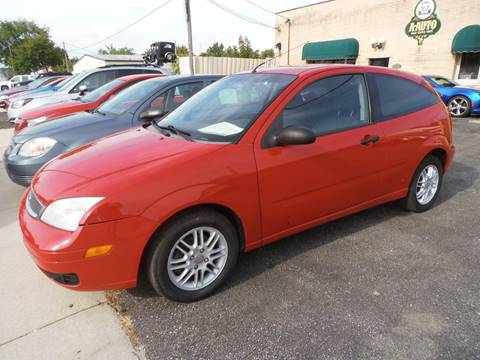 2005 Ford Focus for sale at A-Auto Luxury Motorsports in Milwaukee WI