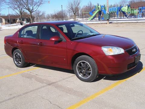2007 Chevrolet Malibu for sale at A-Auto Luxury Motorsports in Milwaukee WI