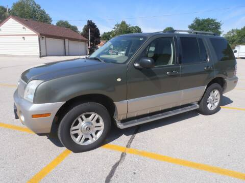 2003 Mercury Mountaineer for sale at A-Auto Luxury Motorsports in Milwaukee WI