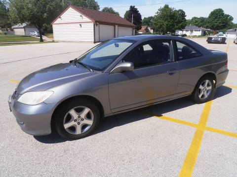 2004 Honda Civic for sale at A-Auto Luxury Motorsports in Milwaukee WI