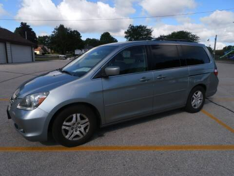 2007 Honda Odyssey for sale at A-Auto Luxury Motorsports in Milwaukee WI