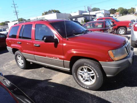 2002 Jeep Grand Cherokee for sale at A-Auto Luxury Motorsports in Milwaukee WI